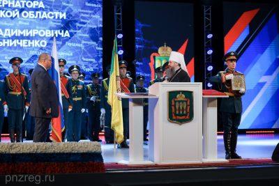 Митрополит Серафим поздравил Олега Мельниченко с инаугурацией