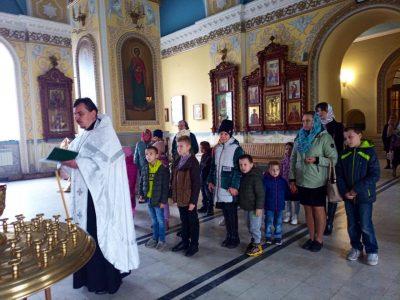 Детская воскресная школа при Покровском соборе возобновила свою работу