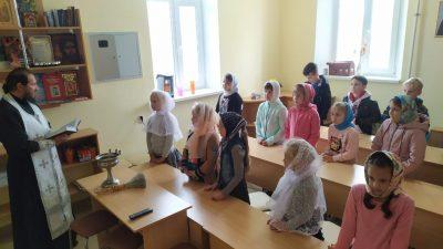 В воскресной школе при Михайло-Архангельском храме р. п. Мокшан начались занятия