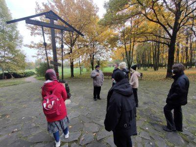 Юные разведчики НОРД «Русь» побывали на Бутовском полигоне