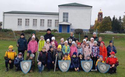 Для воспитанников воскресных школ Мокшанского благочиния состоялась квест-игра памяти святого князя Александра Невского