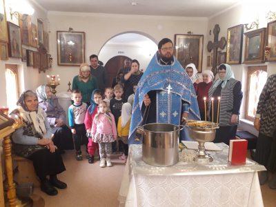 Воспитанники детского сада приняли участие в водосвятном молебне в Михайло-Архангельской церкви с. Вирга