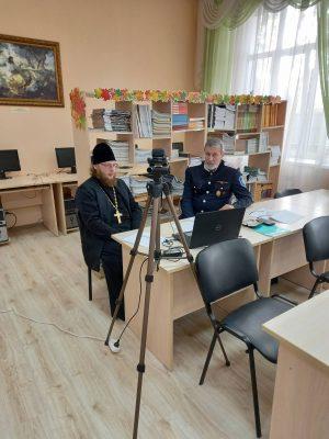 Священник Виктор Сторожев принял участие в вебинаре «Взаимодействие Церкви и казачества на территории Волжского казачьего войска»